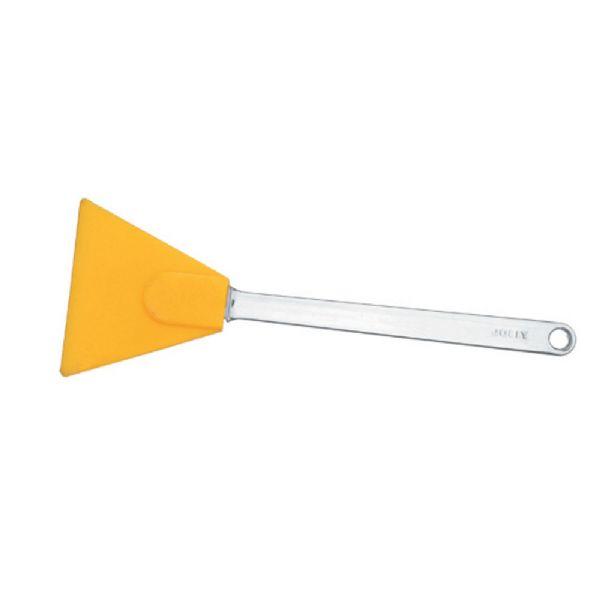 Espátula Triangular de Silicone com Cabo PS